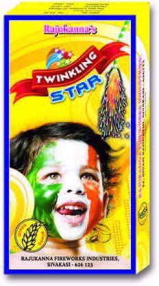 """Twinkling Stars  - 1 1/2"""" Twinkling Star"""