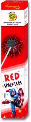 Sparklers  - 10 Cm Red Sparklers
