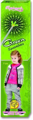 Sparklers - 7 Cm Green Sparklers