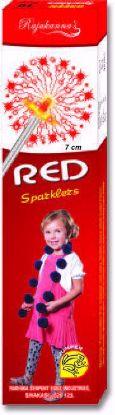 Sparklers - 7 Cm Red Sparklers