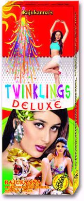 Twinkling Stars - 4' Twinkling Star